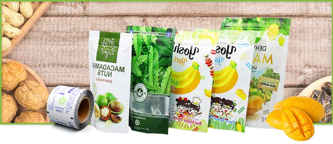 Wholesale stand up dried fruits bag