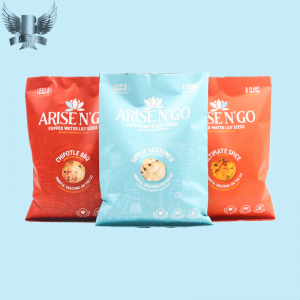 Fin seal bag chip pacakging bags