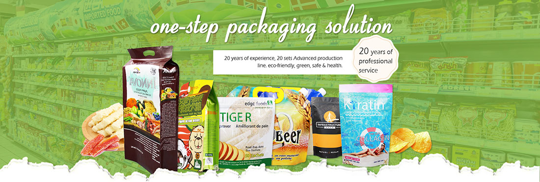 Wholesale matcha tea powder bag