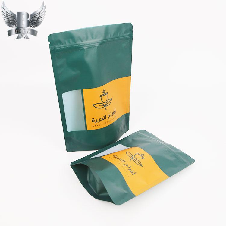 High quality resealable tea bag