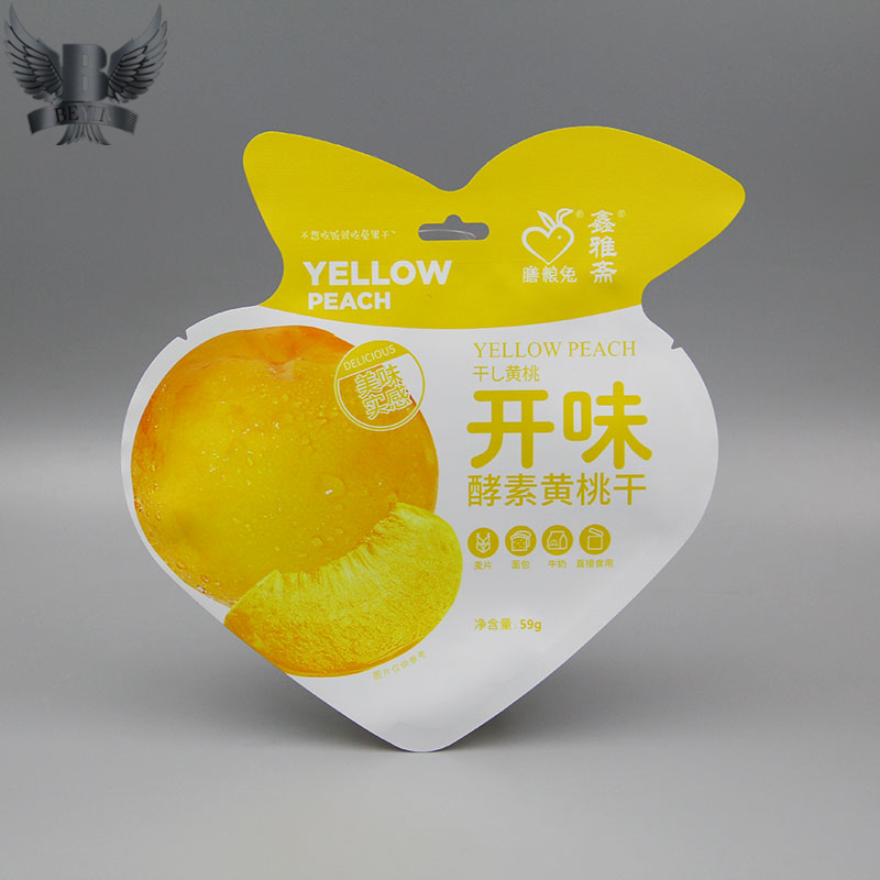 Factory OEM shaped bag for dried fruits
