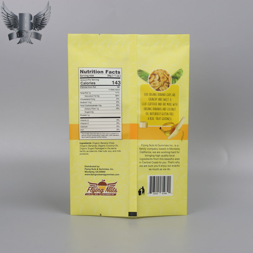 flat fin seal bags from Beyin packing